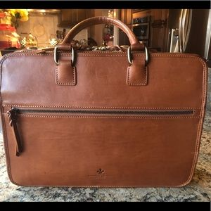 Authentic Dooney and Bourke Leather Briefcase